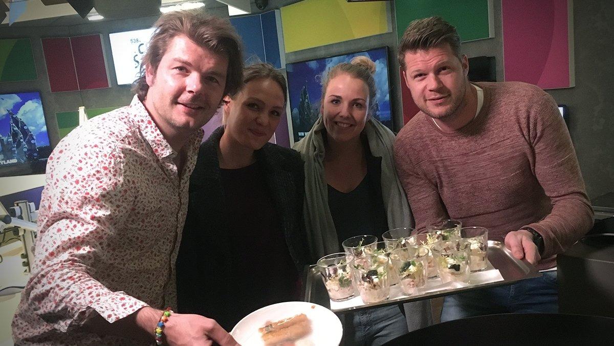 The Greenery verrast Coen en Sander in de radioshow met asperges