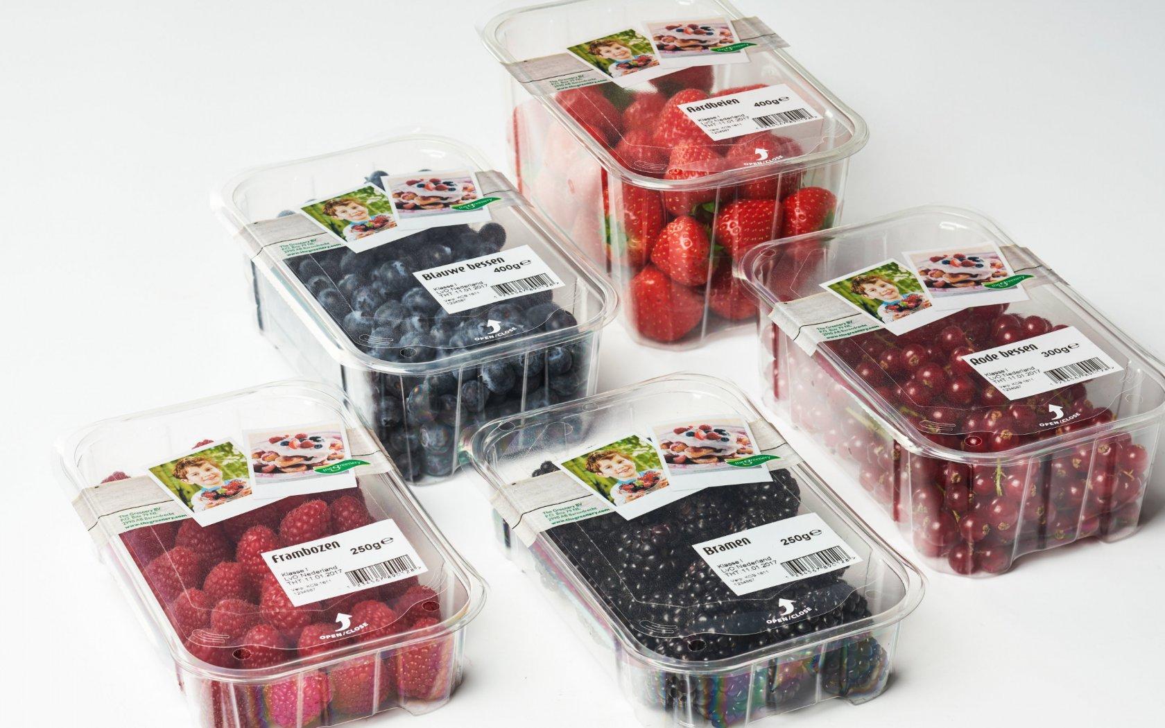 Nouveau : emballage topseal refermable pour les fruits rouges