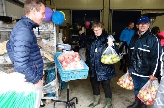 Appelplukdag bij Fruitbedrijf Hoekstra