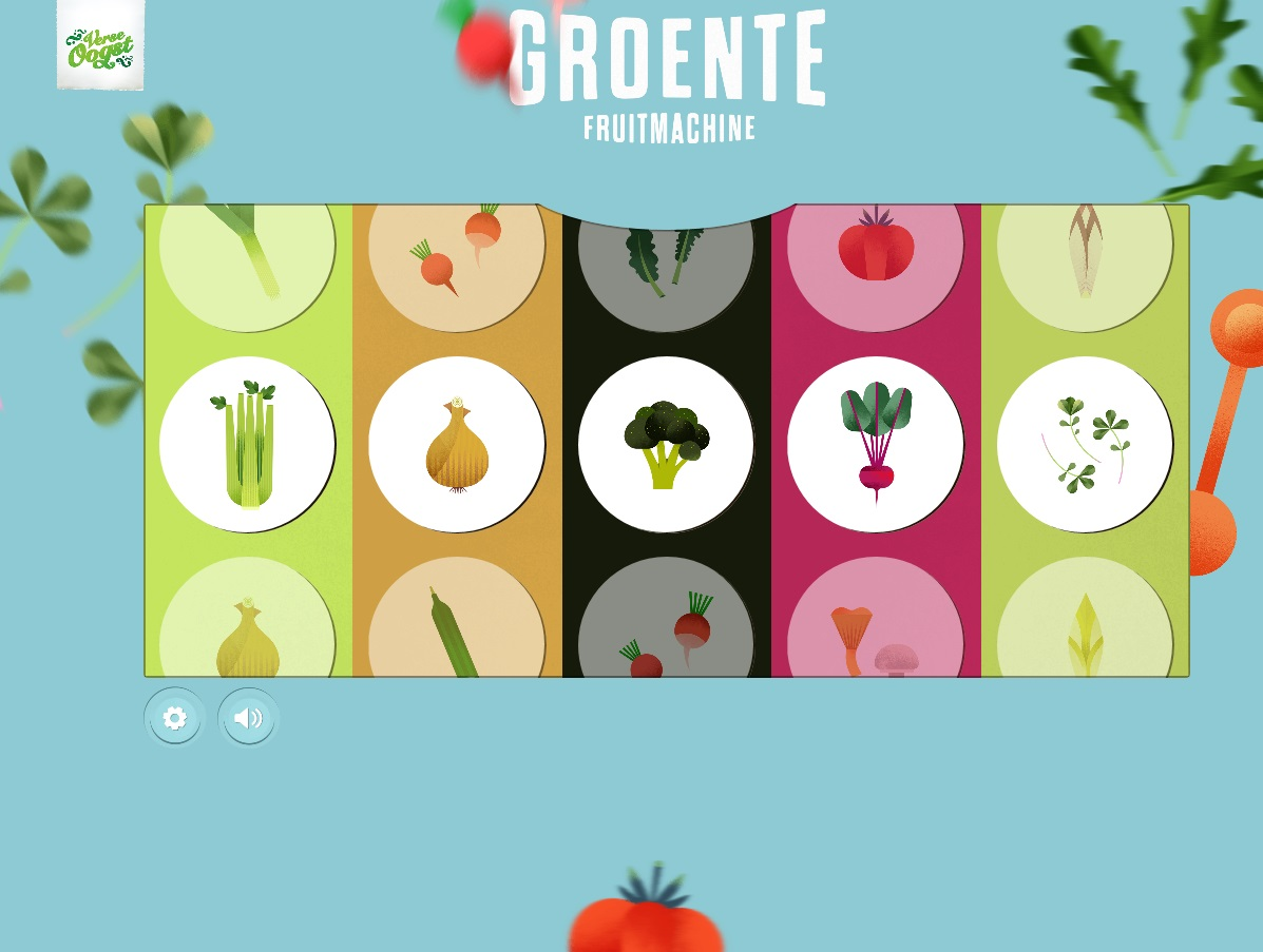 Groente-en fruitmachine geeft verse draai aan de week