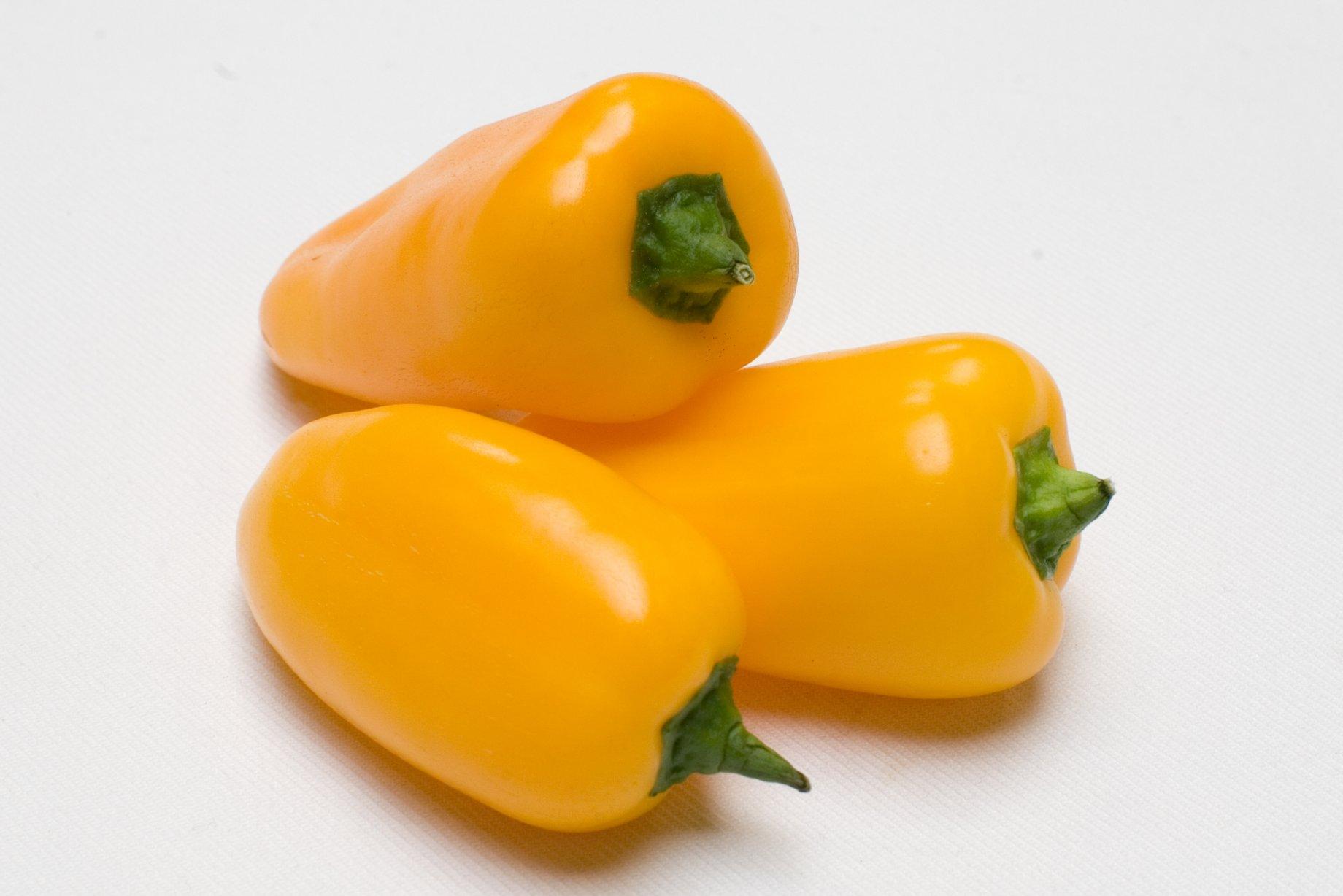 Mini poivron jaune vrac