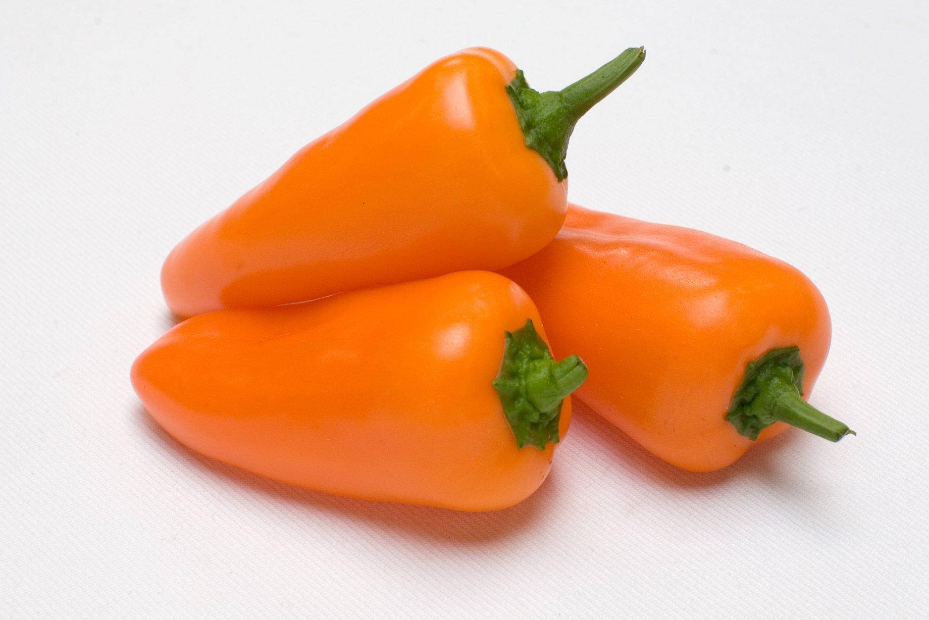 Mini poivron orange vrac