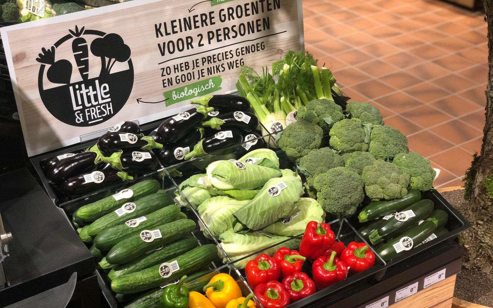 Ketenproject richt zich op minder verspilling met kleinere groente