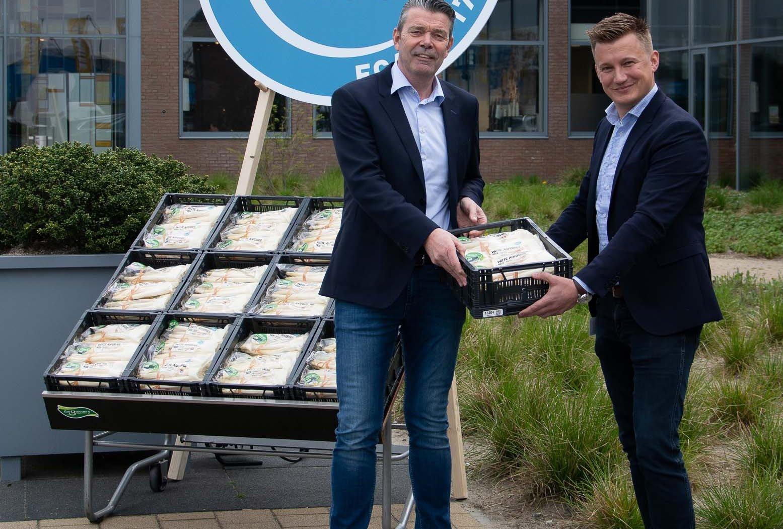 Eerste Hollandse kasasperges verkrijgbaar bij Jumbo Foodmarkten