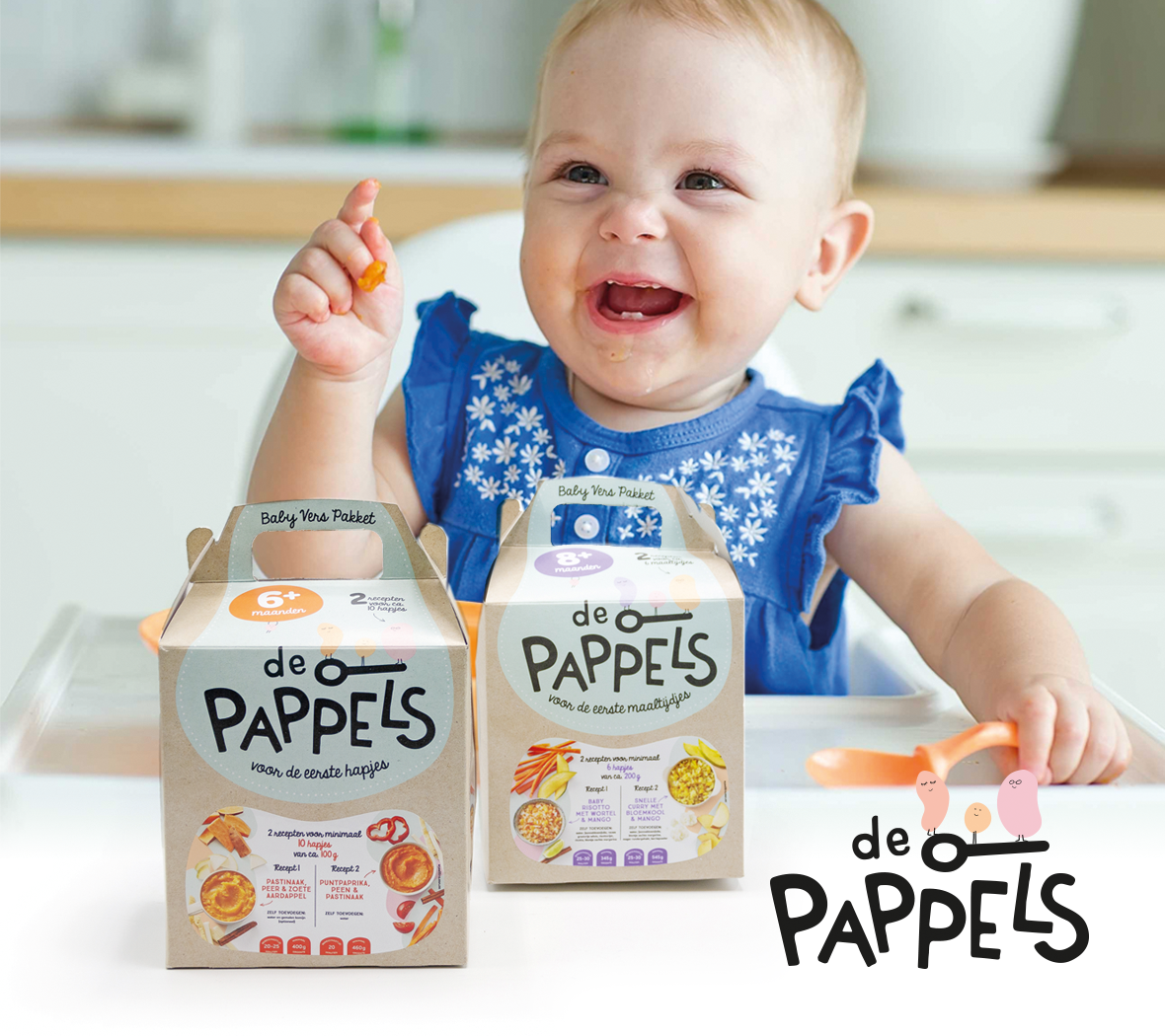 The Greenery introduces 'Pappels' - Fresh produce packages for babies