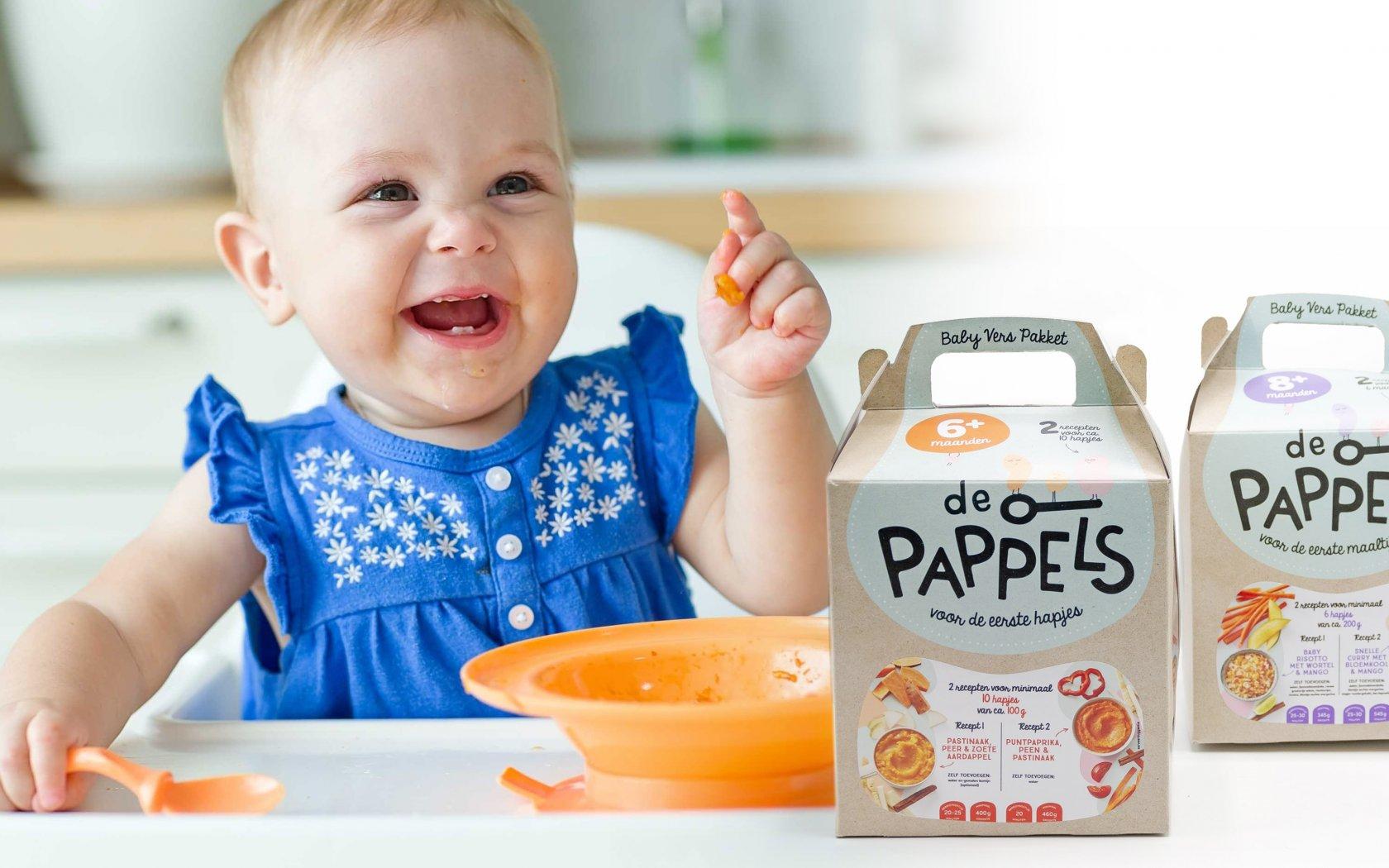 De Pappels: het verspakket voor jouw baby!