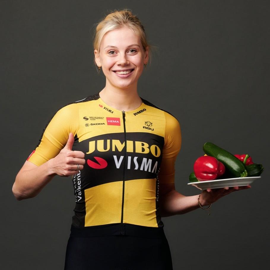 Team Jumbo-Visma en The Greenery werken samen aan het bevorderen van beweging en de consumptie van groente en fruit