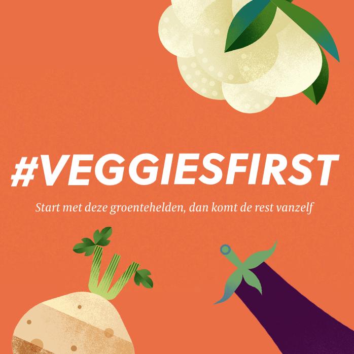 The Greenery lanceert campagne #veggiesfirst; met groente in de hoofdrol is alles mogelijk!